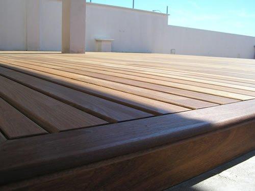 Tarima exterior en madera colocacion y venta